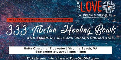 333 Tibetan Healing Bowls,Essential Oil & Chocolate Experience, Sound Healing, Virginia Beach
