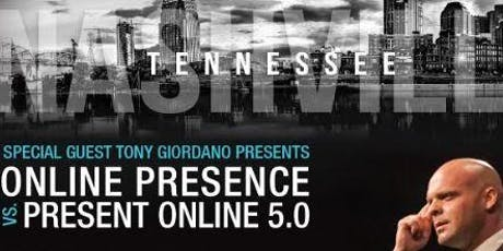 ONLINE PRESENCE VS PRESENT ONLINE 5.0 tickets