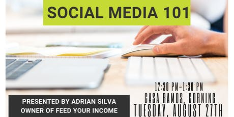 CORNING CHAMBER - POWER LUNCH - SOCIAL MEDIA 101 tickets