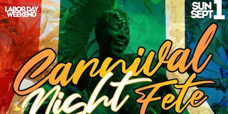 Sunday Sept. 1st Labor Day Weekend (No School/Work Next Day) Carnival Night Fete at Jimmy's • No Cover before Midnight • Birthdays Free All Night • Hookah Available tickets