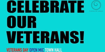 2019 Veterans Day Open Mic Town Hall