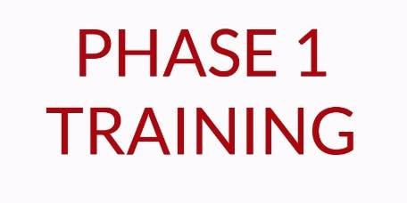 REI Phase I Workshop - Boston, MA.  Oct 9-10 (Wed/Thur)