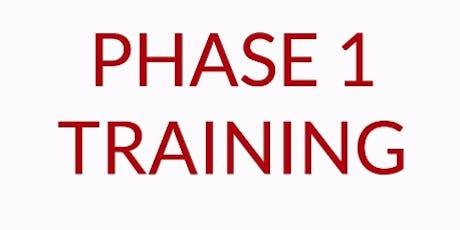 REI Phase I Workshop - Boston, MA.  Nov 11-12 (Mon/Tues)  tickets