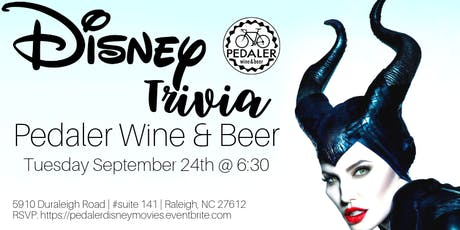 Disney Movie Trivia at Pedaler Wine & Beer tickets