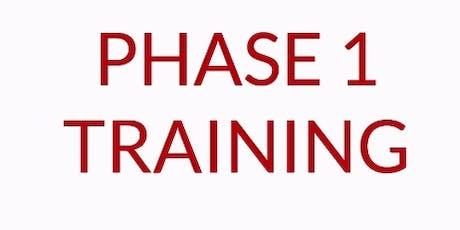 REI Phase I Workshop - Boston, MA.  Dec. 9-10 (Mon/Tues)  tickets