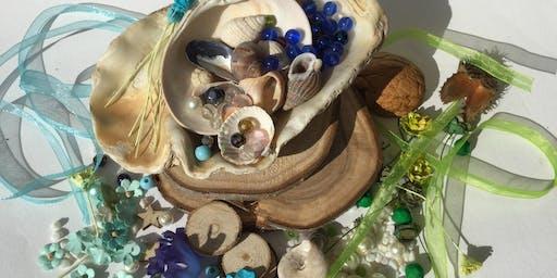 Miniature Mermaid or Turtle garden workshop with MyTinyLittle Studio