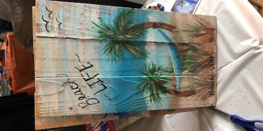 Paint a Pallet & Sip