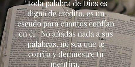 Magna celebración. 450 años de la Biblia en Español entradas