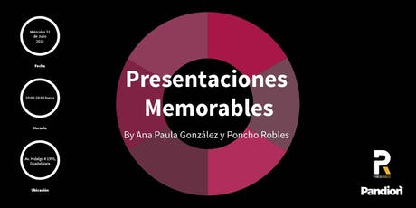 Presentaciones memorables boletos