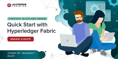 Corporate Blockchain Training: Quick start with Hyperledger Fabric [Zurich] tickets