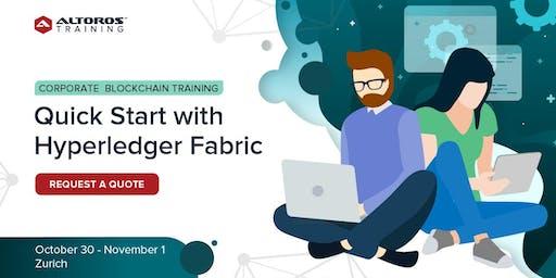 Corporate Blockchain Training: Quick start with Hyperledger Fabric [ Zurich ]