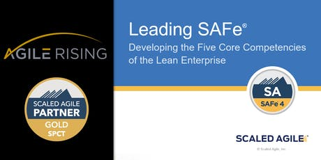 Leading SAFe 4.6 with SA Certification - Pittsburgh Oct 2019 tickets