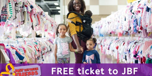 JBF kids consignment event: Public Sale (FREE ticket)