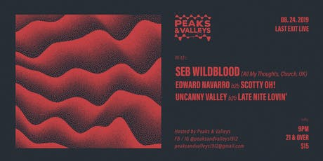 Seb Wildblood hosted by Peaks & Valleys tickets
