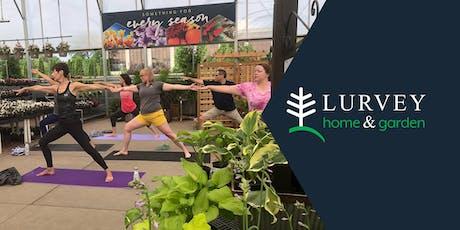 CLASS: Yoga in the Garden tickets