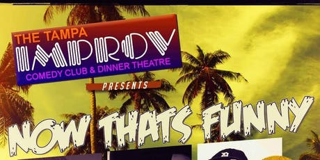 Jacoby Bruton Presents: Now That's Funny tickets