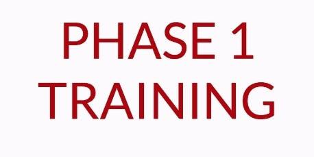 REI Phase I Workshop - Portland, ME.  December 6-7 (Fri/Sat)