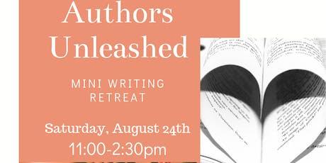 Authors Unleashed Mini Writing Retreat tickets
