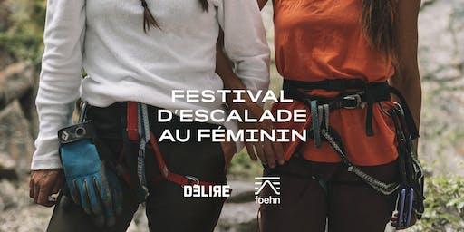 Festival d'escalade au féminin - Kamouraska