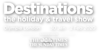 Destinations The Holiday & Travel Show Olympia London