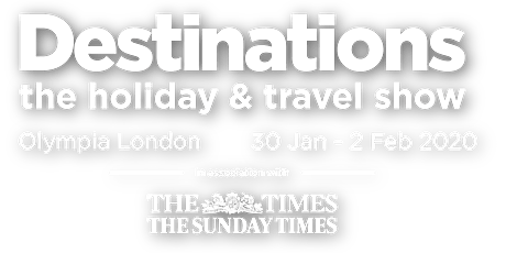 Destinations The Holiday & Travel Show Olympia London tickets