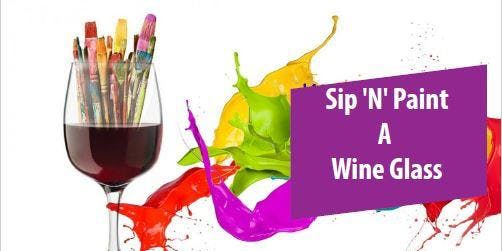 Overture Dr.Phillips Sip'N'Paint a Wine Glass for Adults and Seniors 55+
