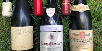Burgundy Gems Wine Dinner