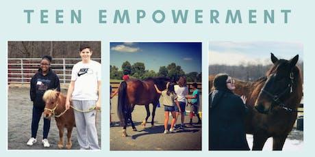 Teen Empowerment Workshop (program fee) tickets