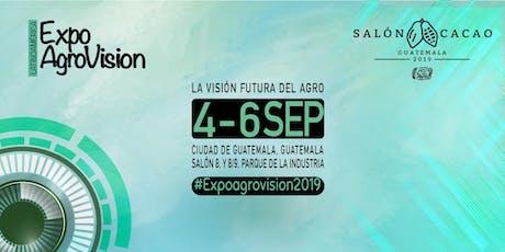 Expo AgroVision y Salón del Cacao tickets