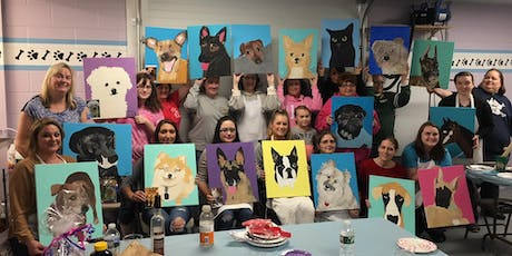 Paint Your Pet-Paint and Sip Night at Russo's -Eastampton tickets