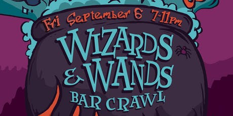 Wizards & Wands Bar Crawl tickets