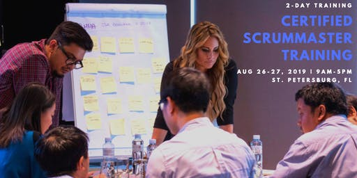 Certified ScrumMaster (CSM) Training Class - in St. Petersburg, FL