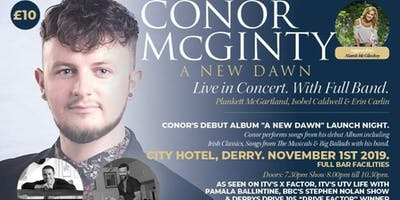 Conor McGinty    A New Dawn - Live In Concert    Support: Niamh Mc Glinchey