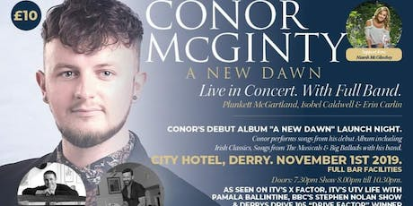 Conor McGinty || A New Dawn - Live In Concert || Support: Niamh Mc Glinchey tickets