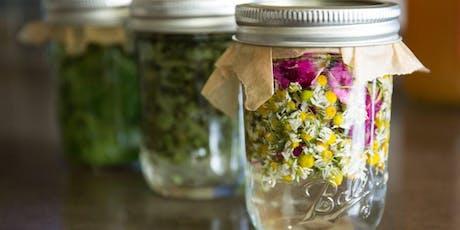 Creating and Understanding Herbal Tinctures tickets