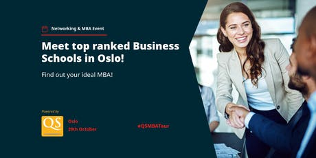 The QS MBA Networking Event is coming to Oslo - Register FREE tickets