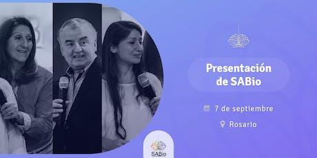 Presentación de SABio en Rosario - Encuentro SENDA 2019 entradas