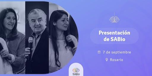 Presentación de SABio en Rosario - Encuentro SENDA 2019