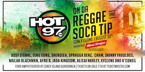 MASSIVE B & Hot 97 ON THE REGGAE TIP AFTER PARTY