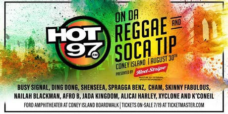MASSIVE B & Hot 97 ON THE REGGAE TIP AFTER PARTY tickets