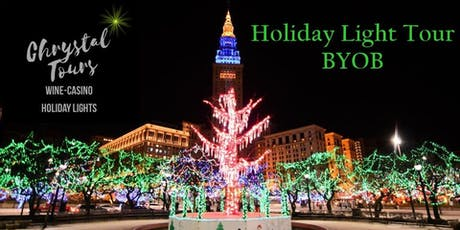 Chrystal Holiday Lights (BYOB) Limo Coach Tour-Cleveland (Westside) tickets