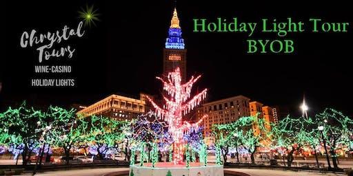 Chrystal Holiday Lights (BYOB) Limo Coach Tour-Cleveland (Westside)