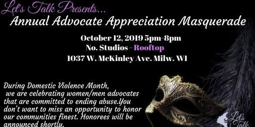 Annual Advocate Appreciation Masquerade