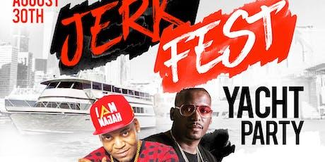 Majah hype yacht   Jerkfest  yacht Hip-hop vs Caribbean tickets