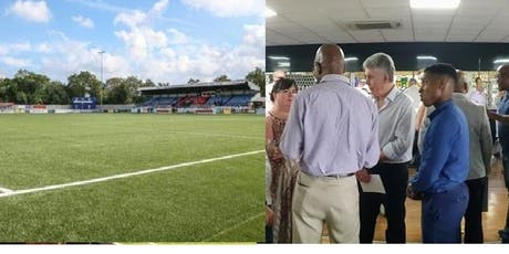 Sutton United FC Business Club vs. Crawley Town FC Business Club (friendly football match); followed by networking over lunch tickets