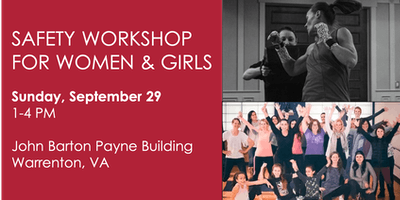 Safety Workshop for Women & Girls in Warrenton, Virginia