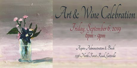Aspire's Art and Wine Celebration tickets