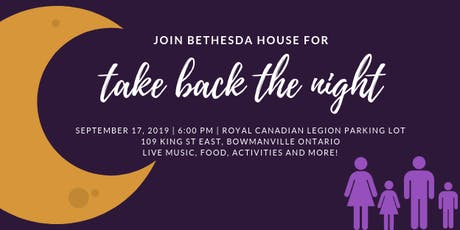 Take Back The Night tickets