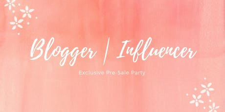 Blogger • Influencer Pre-sale Party   JBF Antioch/Concord tickets