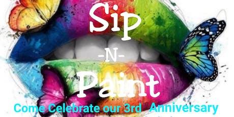 Sip -N- Paint tickets